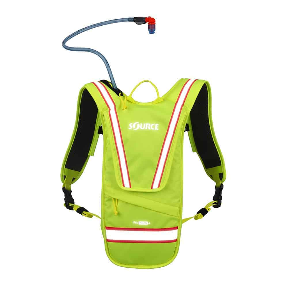 iVis Firefly | High Visibility Hydration Pack | 2L (70 oz.)