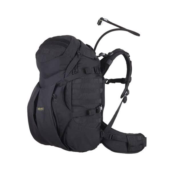 Double D 45L | Tactical backpack | 3L Hydration bladder - Black