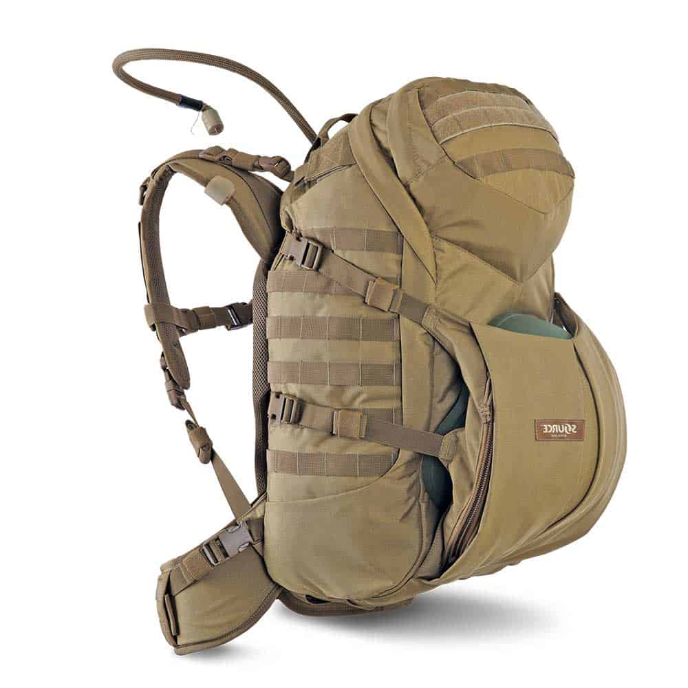 Double D 45L | Tactical backpack | 3L Hydration bladder - Coyote