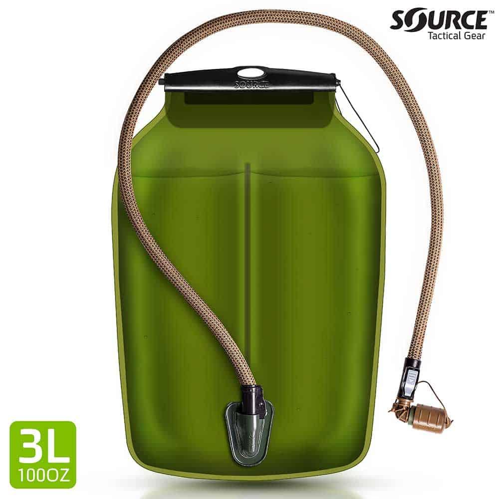 WLPS   Low Profile Hydration Bladder   3L (100 oz.)