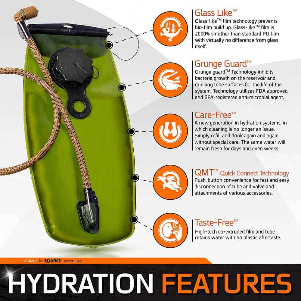 WXP | Hydration Bladder | 2L (70 oz.)