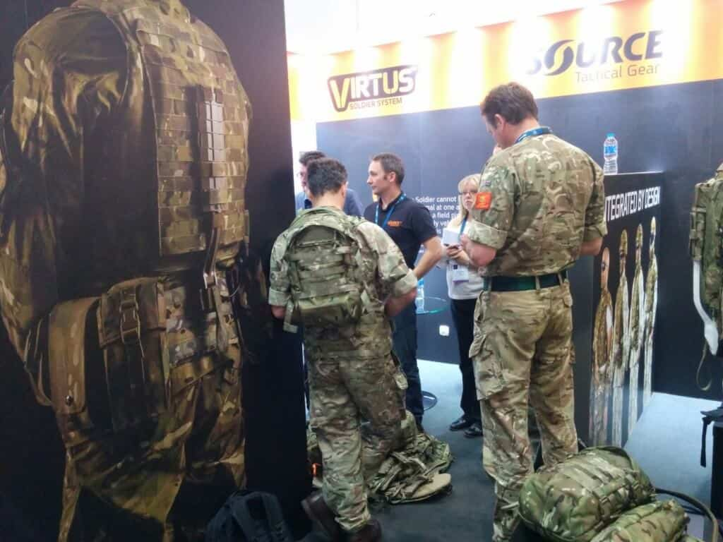 DSEI London 2017 SOURCE Soldier System