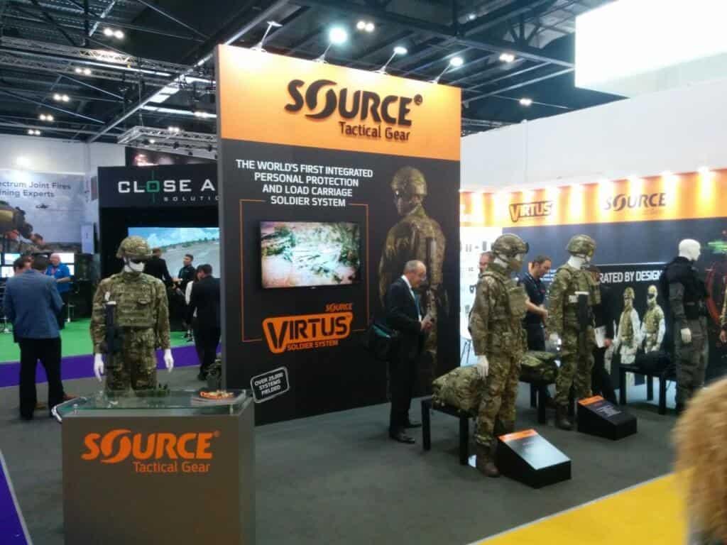 DSEI London 2017 SOURCE Tactical Gear