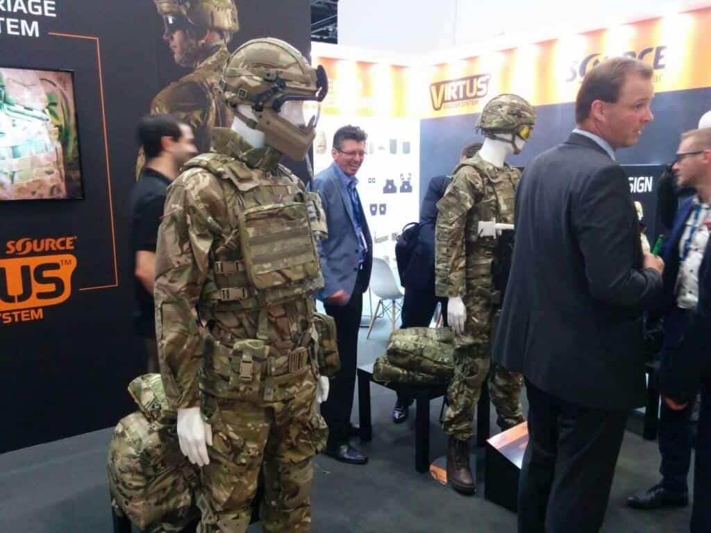 DSEI London 2017 Virtus Soldier System