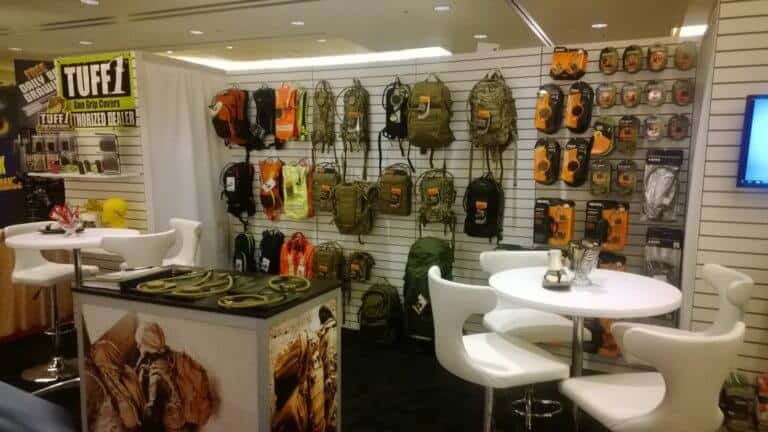 SOURCE booth @ SHOT Show 2014